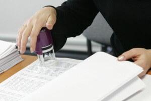 Выдача копий документов связанных с работой
