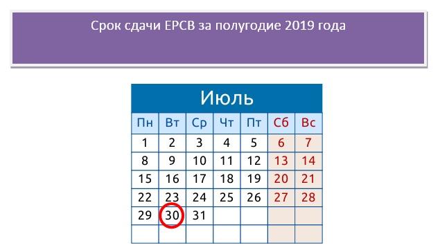 РСВ за полугодие 2019