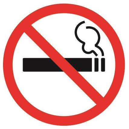 Знак о запрете курения 2020