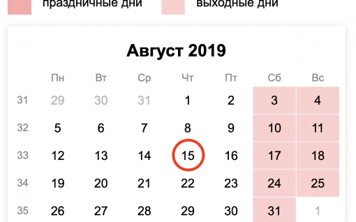 Когда сдавать ежемесячный отчет СЗВ-М за июль 2019 года?