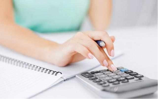 Расчет необходимой для уплаты налоговой суммы