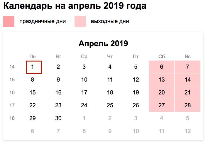 Актуальные сроки сдачи 6-НДФЛ в 2019 году таблица