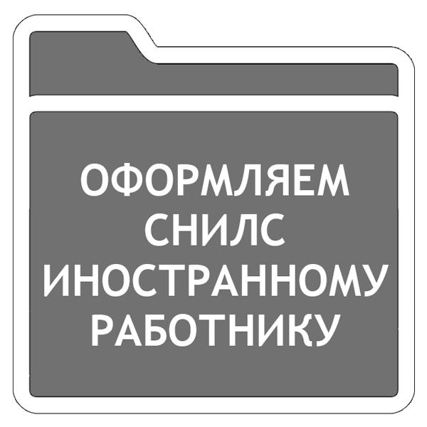 Получаем заявление на получение СНИЛС: образец